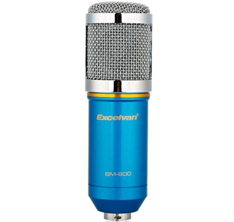the best Excelvan BM-800 Condenser Microphone Review