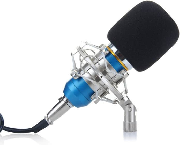 Excelvan BM-800 Condenser Microphone for youtube channel