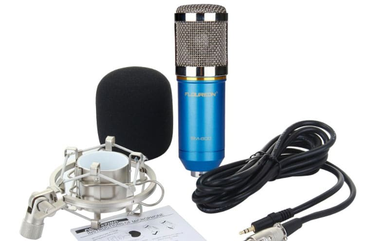 Floureon BM-800 Condenser Microphone - Microphone for youtube channel