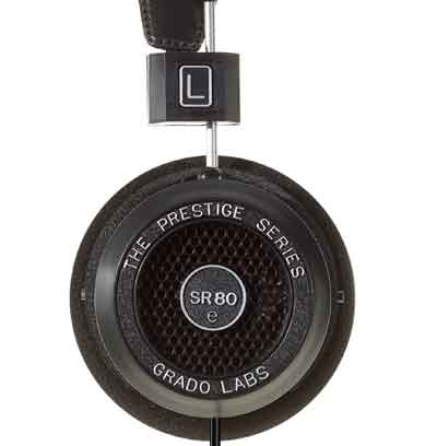 Grado SR80e open back headphone