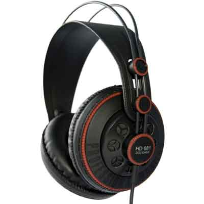 superlux hd 681 dynamic open headphones
