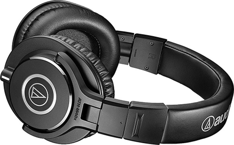 buy Audio Technica ATH M40X Professional Studio Monitor Headphones