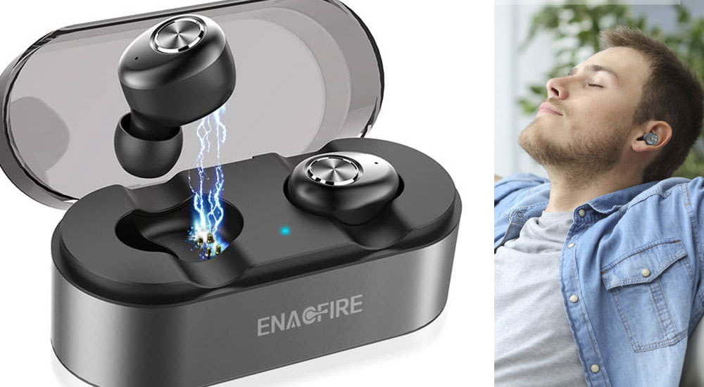 Wireless Earbuds, ENACFIRE E18 earbud review
