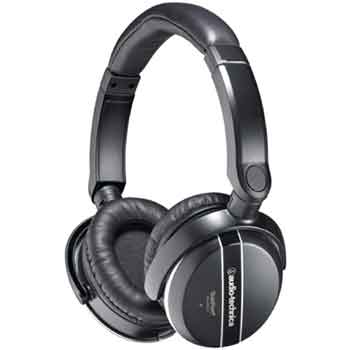 Audio-Technica ATH-ANC27X Quiet Point - Active Noise-Cancelling Headphones With in-line Mic