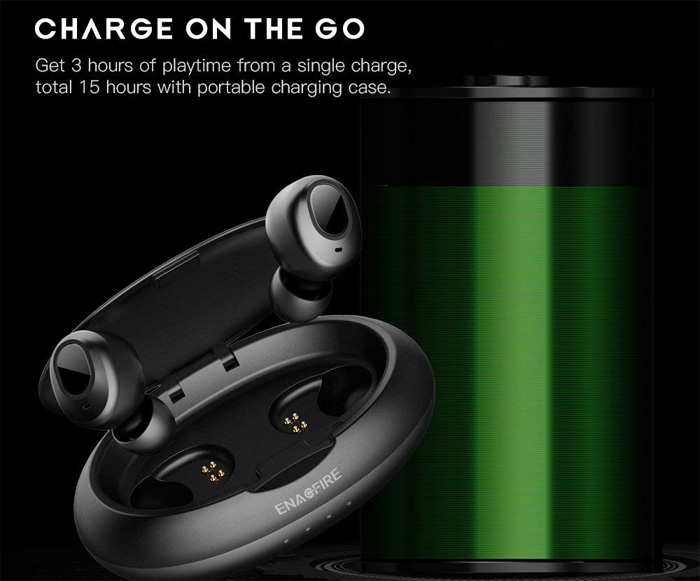 ENACFIRE Wireless Bluetooth Earbuds