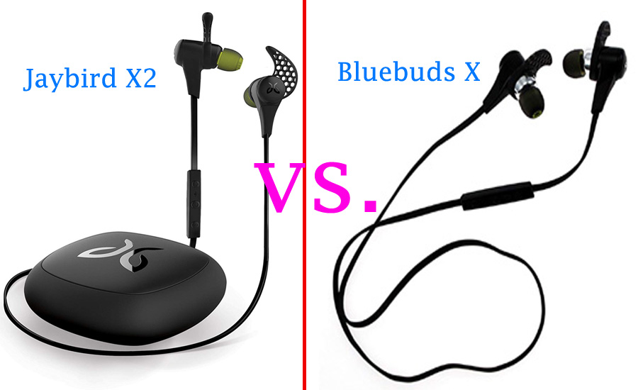 Jaybird X2 vs Bluebuds X