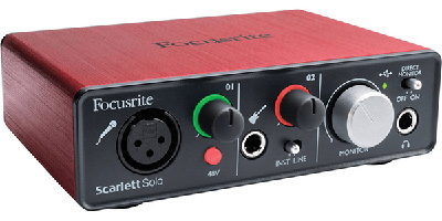 what is an external audio interface