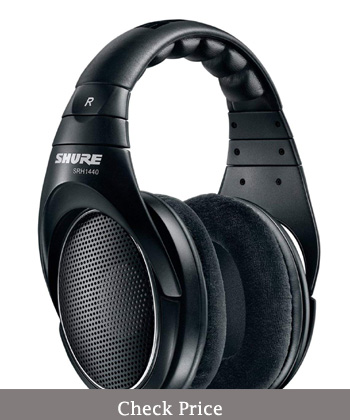 shure srh1440 professional open back headphones review