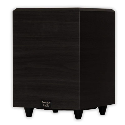acoustic audio psw-8 subwoofer for home
