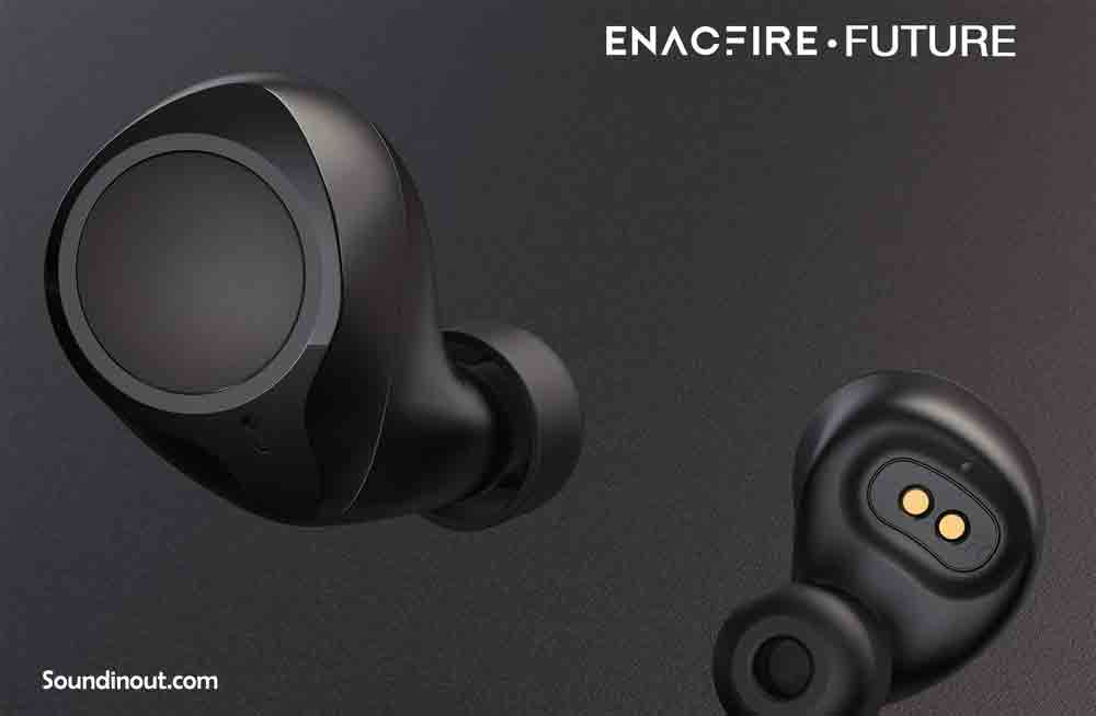 Bluetooth 5.0 Wireless Earbuds, ENACFIRE Future Wireless Bluetooth Headphones