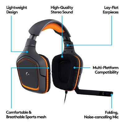 Logitech G231 Prodigy Gaming Headset review